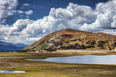 september (cherryspicks (intermittently on/off)) Tags: landscape colorado usa lake september clouds bluesky trees rockymountains mountains