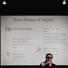 Neat improv & executive presence workshop by Laine Forman from Facebook #POWER2016 (thisgirlangie) Tags: neat improv executive presence workshop by laine forman from facebook power2016