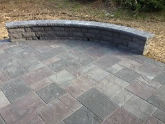 construction (28) (The Sharper Cut Landscapes) Tags: belgardhardscapes backyard landscapedesign landscaping landscapecompany landscapelighting patio pavers plantings seatwall steps retainingwall thesharpercutlandscapes thesharpercut