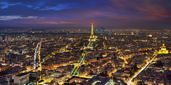 Le Reve (Lee Sie) Tags: montparnasse paris france night cityscape city lights nighttime view sky clouds europe travel