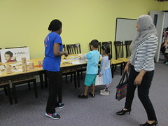 Haggard Library @ Beaty Early Childhood School 10/6/16 (plano.library) Tags: outreach preschool earlylearning earlyliteracy steam beaty haggard library libraries libraryprogram planopubliclibrarysystem ppls plano tx