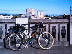 Ah, the Mountain is out, and finally has snow on it!  (The other mountains have snow on them, too.) Taken as always from the Vancouver Avenue Viaduct. #mthood #raleighsuperbe #raleighbicycles #threespeedoct2016 (urbanadventureleaguepdx) Tags: mthood raleighsuperbe threespeedoct2016 raleighbicycles