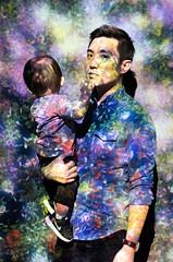 Color explosion (brendanlim) Tags: lights portrait 50mm 12 color colorful 5dmarkis canon5d canon 5d