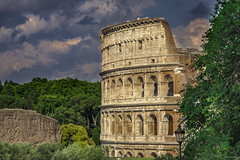 Colosseum2 (wildharps) Tags: travel rome europe colosseum architecture gladiator holiday tourist italy history