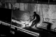 All Your Steel: Pull (UJMi) Tags: iron lahore pakistan steel steelmill fire industrial night sony nex nex7 electric furnace smelter hardwork ironwork idustry