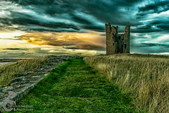 Dunstanburgh Castle 24 (View From The Chair Photography) Tags: landscape castle sky clouds sunsset ruins