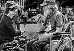 STACY & ED (panache2620) Tags: homeless couple manandwoman street streetphotography photojournalism friends