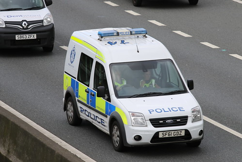 HAGGS SF61 GDZ FORD TRANSIT CONNECT POLICE SCOTLAND