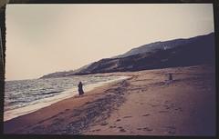 Dead End (Casey Hugelfink) Tags: greece albania sagiada sagiadas beach coast strand sea meer mittelmeer mediterraneansea horizon horizont vintage historic history coldwar kalterkrieg walk deadend sand bank wilderness wildnis nowhereland niemandsland unknown unbekannt 1981