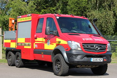 West Sussex Fire And Rescue Brand New Mercedes Sprinter 6x6 Rural Response Vehicle (Ben Greenwood 999) Tags: west sussex fire and rescue mercedes sprinter 6x6 rural response vehicle gu16hgp