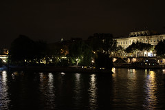 Jardin du vert galant (victorgavrochet) Tags: henri iv cite pont neuf seine night