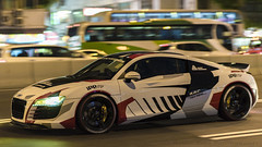 Audi R8 (Benny_chin) Tags: audi r8 quattro hongkong germany gear night nikon nikkor ironman
