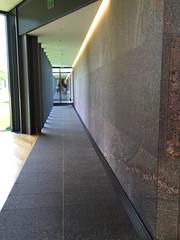 Hallway (chantsign) Tags: architecture hallway clarkcenter columns door glass floor walls explore