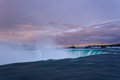 Niagara after the Rain (James L Davidson) Tags: reflections photowalkthisway waterfall slowshutter niagarafalls niagara 500px globalphotowalk gpw2016 redbull longexposure sunset niagarariver