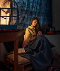 Autumn evening (dantar90) Tags: girl model portrait beautiful beauty pretty light color conceptual art photo nikon d610 35mm dantar90 begmad