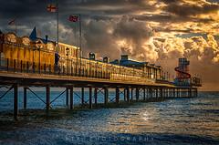 Morning Light (RTA Photography) Tags: rta photography paigntonpier paignton torbay devon sea pier light morning sky hdr 3xp colour seascape