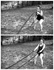 Nicole Scaraglino (mattbellphoto) Tags: nikon fe2 85mmf14 kodak trix 400tx 35mm film bw blackandwhite xtol nicolescaraglino workout fitness