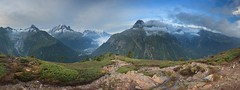 Mont Blanc (camelos) Tags: france chamonix montblanc panorama morning for clouds mountains
