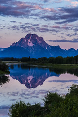 Oxbow First Light (Wycpl) Tags: oxbowbend grandtetonnationalpark wyoming sunrise reflection mountmoran