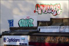 (Alex Ellison) Tags: goodbye rooftop eastlondon urban graffiti graff boobs