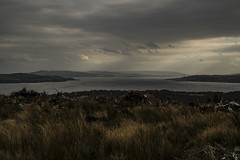 The Firth of Clyde - Glenkin Oct 2016 (GOR44Photographic@Gmail.com) Tags: scotland firthofclyde argyll bute water sea gor44 sky cloud fujifilm xpro1 xf35mmf14 35mmf14 cowal boat hills glenkin