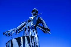 Blue Drumming Tinnie (Mr Clicker / Davin) Tags: mr clicker davin blue drumming tinnie strabane ireland