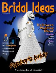 October's Bride (bethrosengard) Tags: bethrosengard photomanipulation digitallyenhanced photoart digitalmagic digitalart