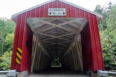 Covered Bridge (vhdragon2112) Tags: coveredbridge red mcconnellsmill d7000 nikond7000 nikon