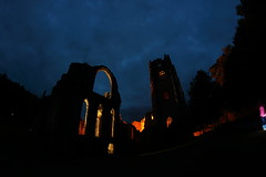 IMG_1471 (Yorkshire Pics) Tags: 0810 08102016 october fountainsabbey fountainsabbey2016 fountainsabbeyatnight2016 fountainsabbeyatnight yorkshire nationaltrust 8mm fisheye fisheyelens samyang samyang8mm night nightshot nightphotography nightscene nightscape photographyatnight photographybynight photographingthenight photographingatnight