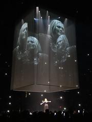DSC04947 (thekrisharris) Tags: adele adkins nashville bridgestone arena tennessee tn british woman singer microphone stage tour live 2016 concert music song guitar band confetti dress rain fans artist