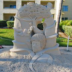Key West (Florida) Trip 2015 0575Ri sq (edgarandron - Busy!) Tags: florida keys floridakeys keywest higgsbeach casamarina sandart