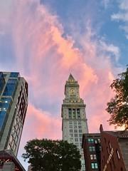 The Custom House (jmrgmbl) Tags: boston customhouse sky evening
