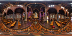 St George's Cathedral interior (Astronomy*Domine) Tags: hdr saint georges cathedral perth westernaustralia city equirectangular church 360 vr canon 6d samyang 14mm nik color efex