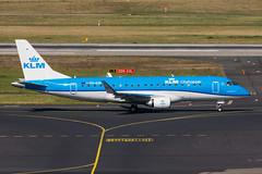PH-EXG - KLM cityhopper - Embraer ERJ-175STD (5B-DUS) Tags: phexg klm cityhopper embraer 175 e175 erj emb dus eddl dusseldorf dsseldorf international airplane airport aircraft aviation flughafen flugzeug plane planespotting spotting