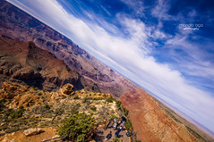 On the edge of Painted Desert (mariola aga) Tags: arizona grandcanyonnationalpark desertview canyon coloradoriver river painteddesert desert sky clouds landscape wideangle sigma1020mm