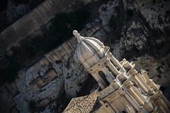 rock &  baroc (Camillo diB ()) Tags: campanile facciata barocco rocce canyon chiesadisbartolomeo scicli sicilia italia