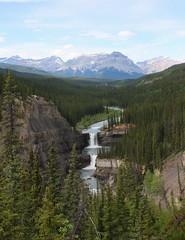 Crescent Falls Provincial Recreation Area (Alberta Parks) Tags: waterfall landscape pra provincialrecreationarea mountains river dayhike views