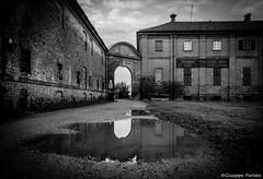 Stupinigi water mirror (TO) (makizekai16) Tags: stupinigi torino blackandwhite reflection water oldstyle piemonte parco caccia chase savoia suppunicum unesco royalhunting biancoenero