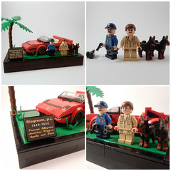 Lego Magnum P.I. ([E]ddy) Tags: lego legominifiguren legominifigures legominifigs legography legominifig legominifigure legominifis legominifiguur legoalt legoplants magnum pi higgens dobermann doberman 2 ferrari 308 gts minifigures minifiguren minifigs minifig minifigure moc minifiguur minifigres miniig movie mini miniatuur modern serie