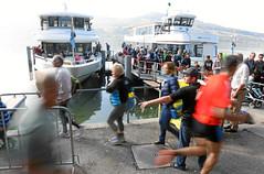 Hallwilerseelauf: Schiffe bringen die Zuschauermassen aufs andere Ufer