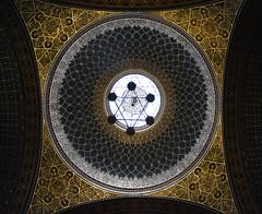 Cupola Sinagoga Spagnola Praga (carlocorv1) Tags: cupola sinagoga mosaici copertura arte architettura colori