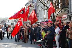 1er mai 2013 (Parti Socialiste (PS)) Tags: belgique andr frdric muriel parti verviers fdration socialiste 1ermai discours targnion