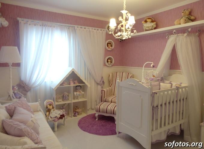 Projeto quarto suite de bebe menina