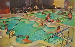Healing Waters Trailer Village Park Desert Hot Springs CA (1950sUnlimited) Tags: travel vacation roadtrips pools postcards leisure hotels roadside poolside resorts inns motels lodges swimmingpools lounges motorinns leisureactivites