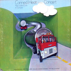 Concert (Recorded Live in Europe) (epiclectic) Tags: music art vintage 1971 album vinyl retro collection jacket cover lp record sleeve gatefold cannedheat epiclectic