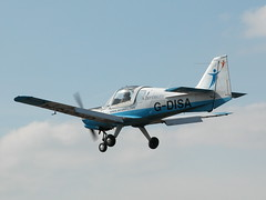 G-DISA SCOTTISH AVIATION BULLDOG SERIES 120 MODEL 125 (BIKEPILOT) Tags: flying airport aircraft aviation aeroplane airfield aerodrome blackbushe gdisa eglk scottishaviationbulldogseries120model125 aerobility