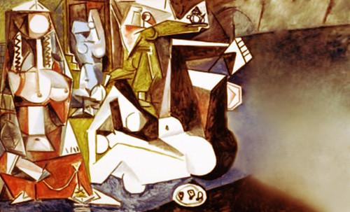 """Odaliscas (Mujeres de Argel) yuxtaposición y deconstrucción de Pablo Picasso (1955), síntesis de Roy Lichtenstein (1963). • <a style=""""font-size:0.8em;"""" href=""""http://www.flickr.com/photos/30735181@N00/8746881933/"""" target=""""_blank"""">View on Flickr</a>"""