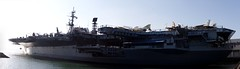 USS Midway panorama (Scott SM) Tags: panorama museum san ship sandiego aircraft navy diego midway uss carrier hugin cv41
