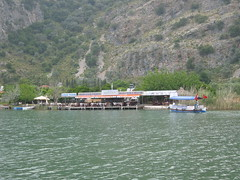 Restaurant over the river (Radu Bucuta) Tags: holiday turkey easter paste dalyan concediu 2013 turcia