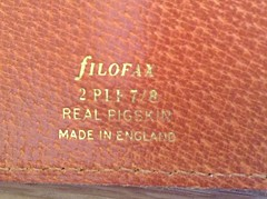 Filofax - the real originals Pt.4 (g_m_a_x) Tags: leather vintage planner filofax madeinengland binder organiser theoriginal twopocket uploaded:by=flickrmobile flickriosapp:filter=nofilter